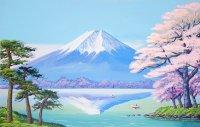 1春の富士山