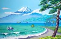 2春の富士山