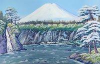 5冬の富士山