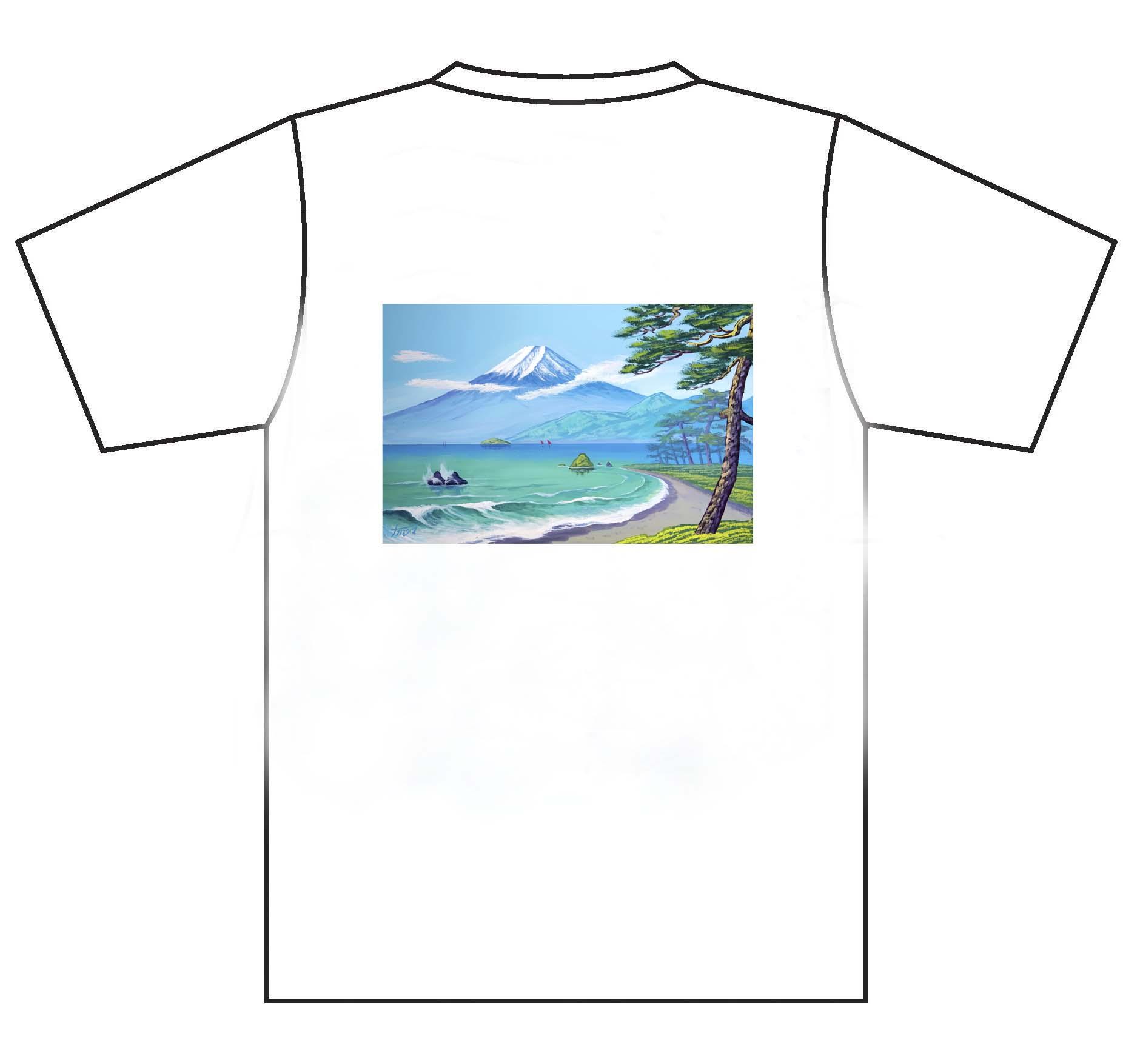 画像1: 春の富士山2