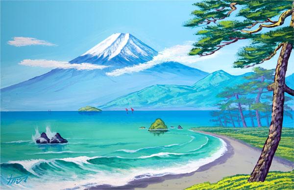 画像2: 春の富士山2