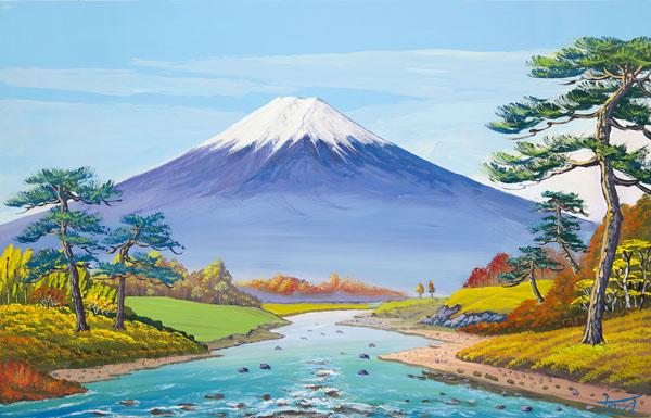 画像1: 4実りの秋の富士山