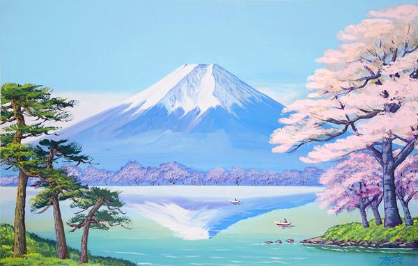 画像1: 1春の富士山